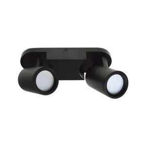 BOWI Bodové svítidlo KINIA 2xGU10/30W/230V černá