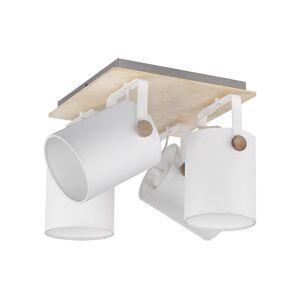 TK Lighting Bodové svítidlo RELAX WHITE 4xE27/60W/230V