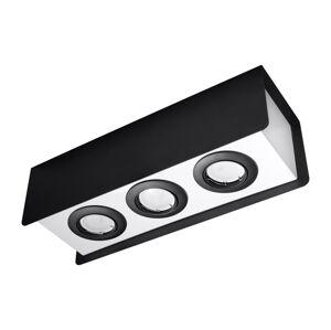 Sollux Bodové svítidlo STEREO 3 3xGU10/40W/230V