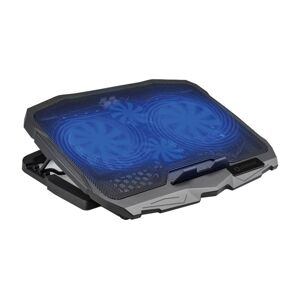 Platinet Chladící podložka pro notebook 4x ventilátor 2xUSB černá
