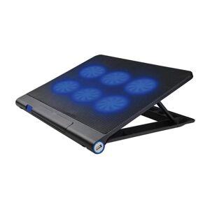 Platinet Chladící podložka pro notebook 6x ventilátor 2xUSB černá