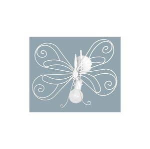 Luminex Dětské nástěnné svítidlo MOTÝL 1xE27/60W bílá