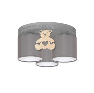 Milagro Dětské stropní svítidlo BEAR 3xE27/60W/230V