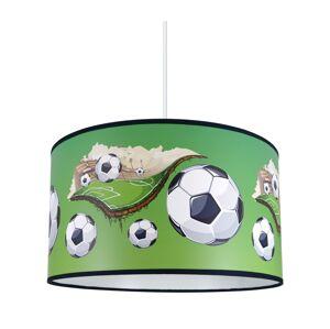 Lampdar Dětský lustr na lanku FOOTBALL 1xE27/60W/230V