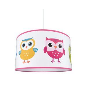 Lampdar Dětský lustr na lanku OWLS 1xE27/60W/230V