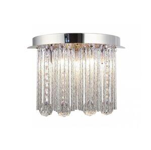 Auhilon LED Křišťálové stropní svítidlo AZAHAR 7xLED/0,2W + G9/40W/230V