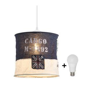 LED Lustr na lanku 1xE27/10W/230V