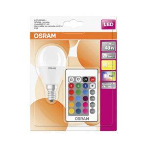 Osram LED RGB Stmívatelná žárovka E14/5,5W/230V 2700K