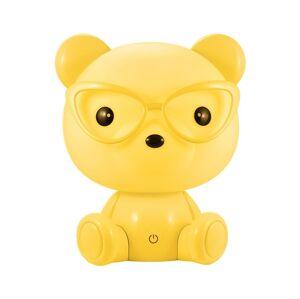 Polux LED Stmívatelná dětská noční lampička LED/2,5W medvěd žlutý