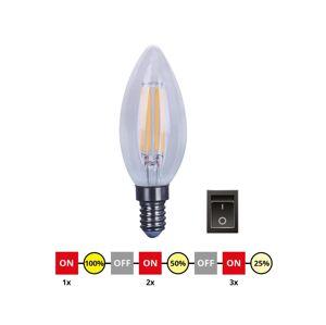 Immax LED Stmívatelná žárovka E14/4W/230V C35 2700