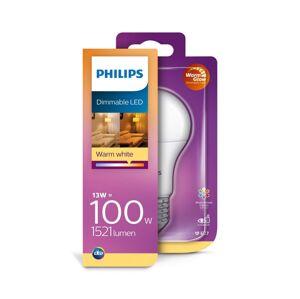 Philips LED Stmívatelná žárovka Philips E27/13W/230V 2200K