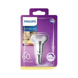 Philips LED Stmívatelná žárovka Philips R50 E14/4,3W/230V 2700K