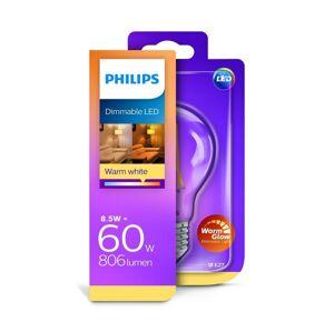 Philips LED Stmívatelná žárovka Philips Warm Glow A60 E27/8,5W/230V 2200
