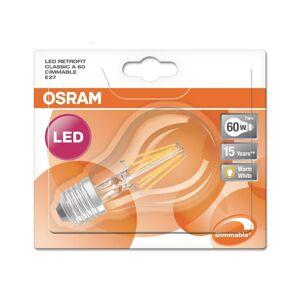 Osram LED Stmívatelná žárovka RETROFIT E27/7W/230V 2700K