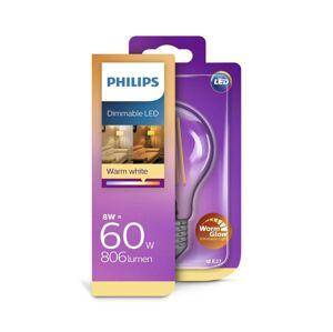 Philips LED Stmívatelná žárovka Philips Warm Glow E27/8W/230V 2200