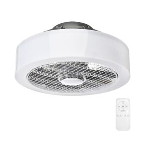 Milagro LED Stmívatelné stropní svítidlo s ventilátorem MISTRAL LED/45W/230V