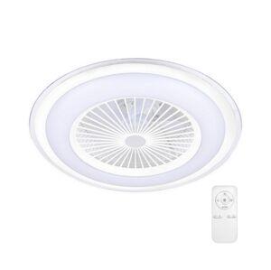 Milagro LED Stmívatelné stropní svítidlo s ventilátorem ZONDA LED/60W/230V bílá + DO