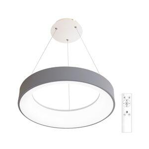 Ecolite LED Stmívatelný lustr na lanku LED/40W/230V šedý