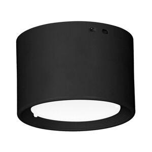 Luminex LED Stropní svítidlo LED/9W/230V černá pr. 10 cm 2800