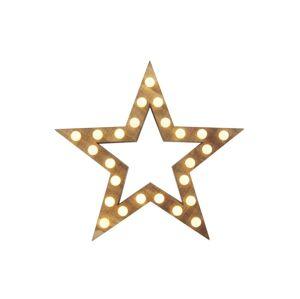 EMOS LED Vánoční dekorace 25xLED/1,5W/2xAA hvězda