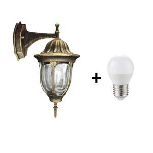 Polux LED Venkovní nástěnné svítidlo FLORENCJA 1xE27/10W/230V IP43