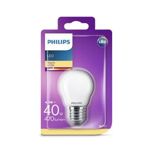 Philips LED Žárovka Philips P45 E27/4,3W/230V 2700K
