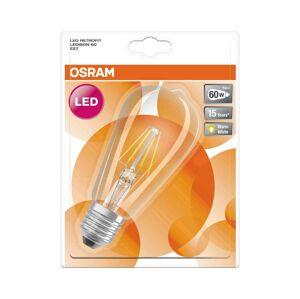 Osram LED Žárovka RETROFIT E27/6W/230V 2700K