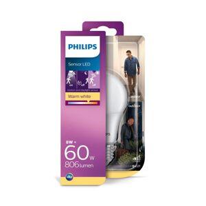 Philips LED Žárovka se senzorem pohybu Philips E27/8W/230V 2700K