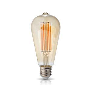 Kobi LED Žárovka VINTAGE FST64 E27/7W/230V 2700K