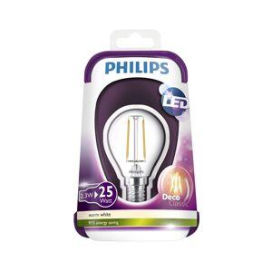 Philips LED Žárovka VINTAGE Philips E14/2,3W/230V 2700K