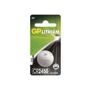 EMOS Lithiová baterie knoflíková CR2450 GP LITHIUM 3V/600 mAh