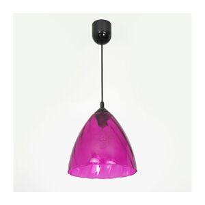 Luminex Lustr na lanku FLASH 1xE27/60W/230V růžová