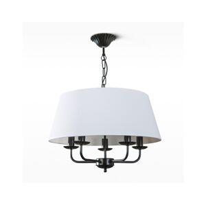 Light4home Lustr na řetězu VIOLA 5xE14/40W/230V bílý