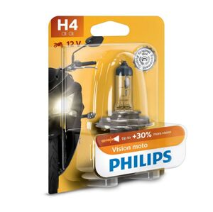 Philips Motožárovka Philips VISION MOTO 12342PRBW H4 P43t