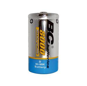 Baterie centrum Nabíjecí baterie NiMH D 8000 mAh 1,2V