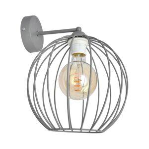 Helam Nástěnná lampa MERCURE 1xE27/60W/230V šedá