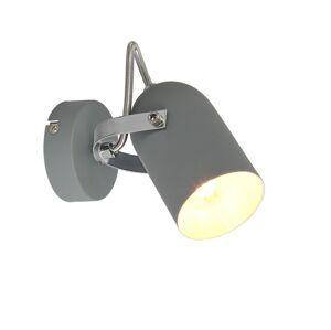 Candellux Nástěnné bodové svítidlo GRAY 1xE14/40W/230V