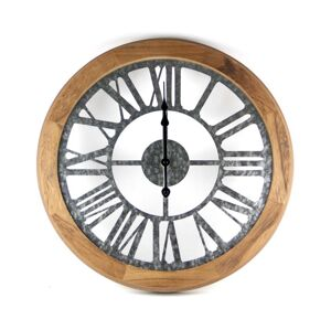 Platinet Nástěnné hodiny 1xAA dřevo