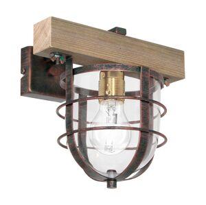 Luminex Nástěnné svítidlo ANDER 1xE27/60W/230V světle hnědá