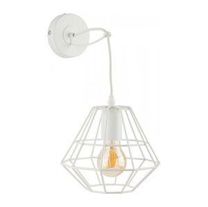 TK Lighting Nástěnné svítidlo DIAMOND 1xE27/60W/230V bílá