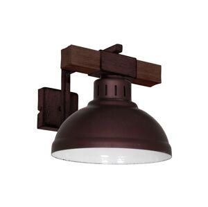 Luminex Nástěnné svítidlo HAKON 1xE27/60W/230V tmavá