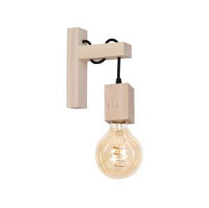 Milagro Nástěnné svítidlo JACK 1xE27/40W/230V přírodní dřevo