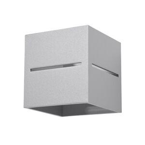 Sollux Nástěnné svítidlo LOBO 1xG9/40W/230V šedá