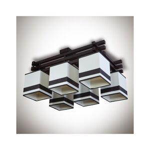 Light4home Přisazený lustr GRANADA 6xE14/40W/230V hnědá