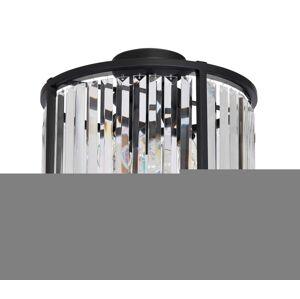 Luminex Přisazený lustr HENRY 3xE27/60W/230V černá