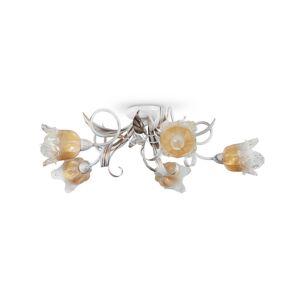 Light4home Přisazený lustr LUCIA 5xE14/40W/230V