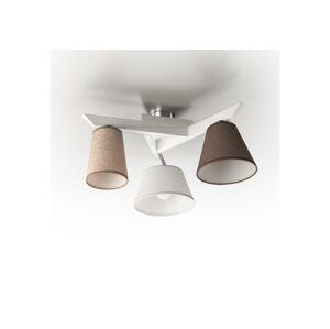 Light4home Přisazený lustr YOKE 3xE14/40W/230V bílá