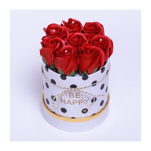 Christine's roses Růže z pěnového mýdla BE HAPPY