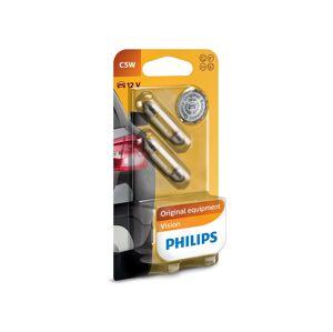 Philips SADA 2x Autožárovka Philips VISION 12844B2 C5W SW8,5/5W/12V