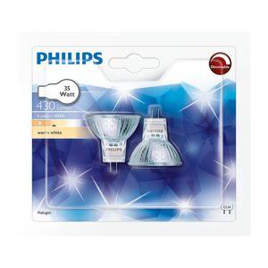 Philips SADA 2x Halogenová žárovka Philips GU4/35W/12V